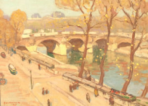 """Along the Seine"""